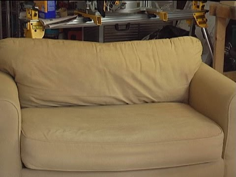 Recondition Your Suede, Cloth or Leather Couch the easy way!