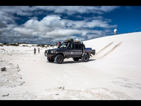 4x4 Off road Sand Dunes, Wedge Island
