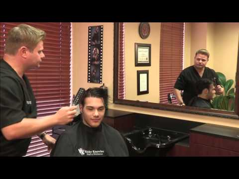 Hair Replacement for Young Men - Full Head of Hair in Minutes!