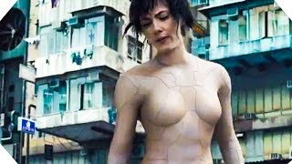 GHOST IN THE SHELL Trailer + Featurette (2017)