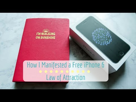 How I Manifested a Free iPhone 6 | Law of Attraction