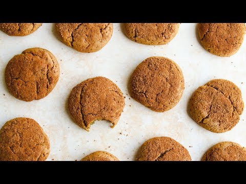 Vegan Cashew Butter Snickerdoodles 🍪  LIVE Holiday Cookie Party!
