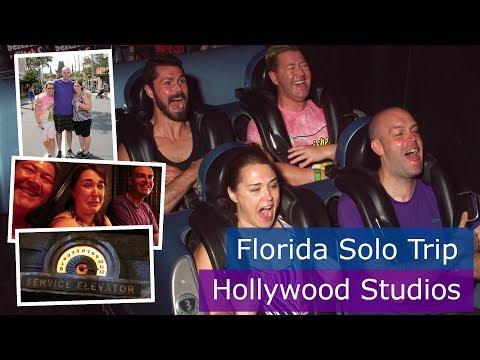 Day 6 | Hollywood Studios & first Tower of Terror drop | Walt Disney World solo trip | Florida 2017