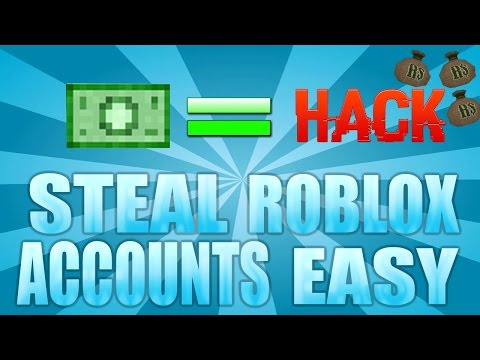ROBLOX HOW TO STEAL/HACK ACCOUNTS TO GET FREE ROBUX 2016 - *EASIEST METHOD* [October 2016] PC/IPAD!