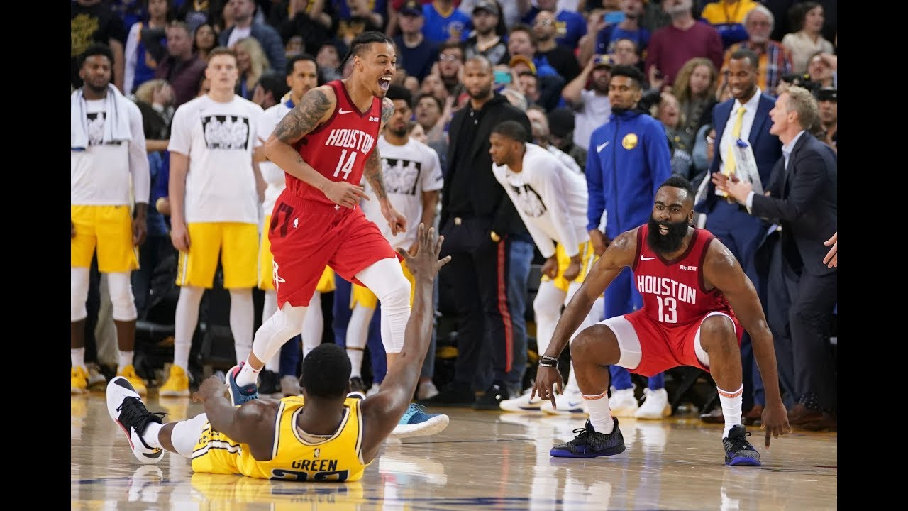 James Harden Hits OT Game-Winner Over Draymond Green To Beat Golden State Warriors At Oracle Arena