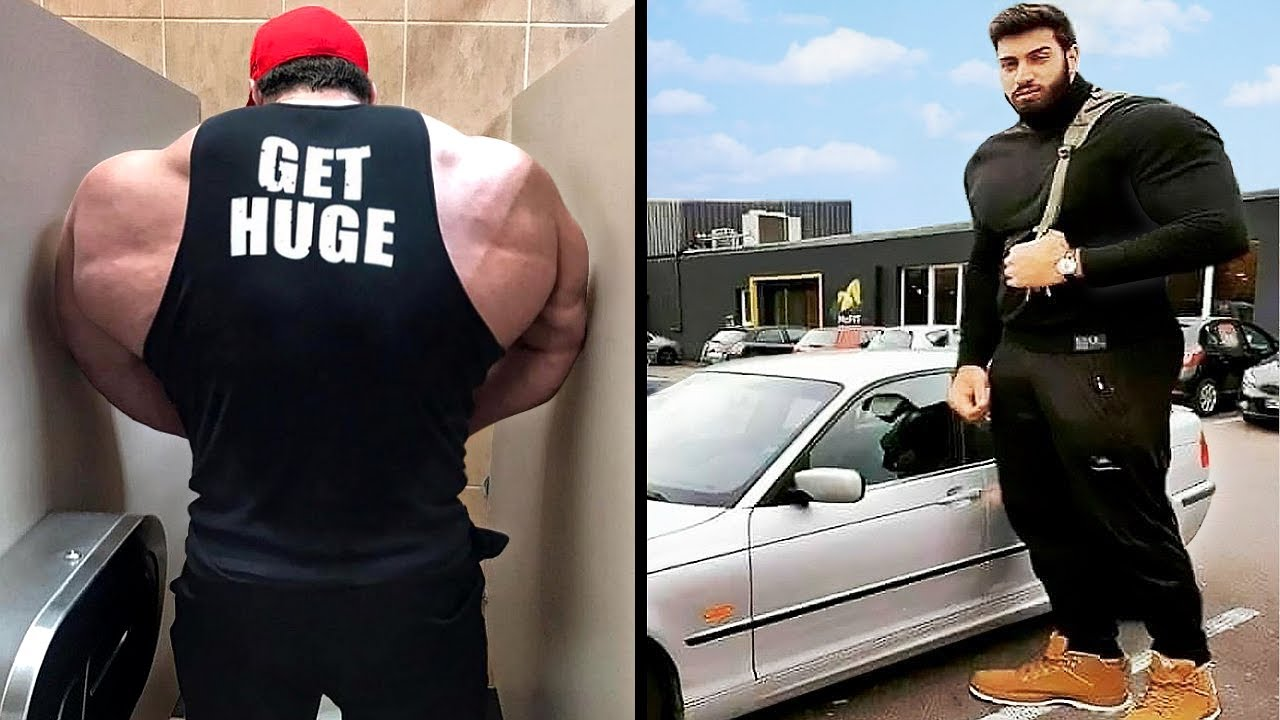 This is What Happens When Bodybuilders Are in Public Places...