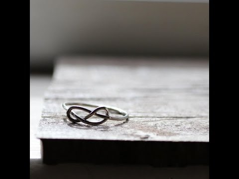 How to make a sterling silver infinity knot ring in any size -Professional Metalsmith Series