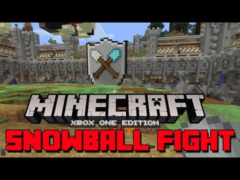 Minecraft: Xbox One Edition - Snowball Fight!!! [Tumble]