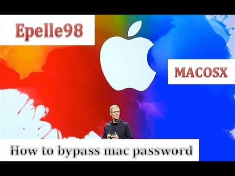 How to bypass (hack) a Mac password