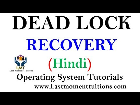 Dead Lock Recovery Explained in Hindi | Operating System Tutorials
