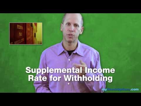 Employee Stock Options: Taxes