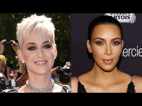 Katy Perry Hilariously ROASTED Kim Kardashian's TBT Photo