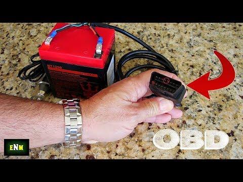 DIY Vehicle Computer Power Supply Backup Tool