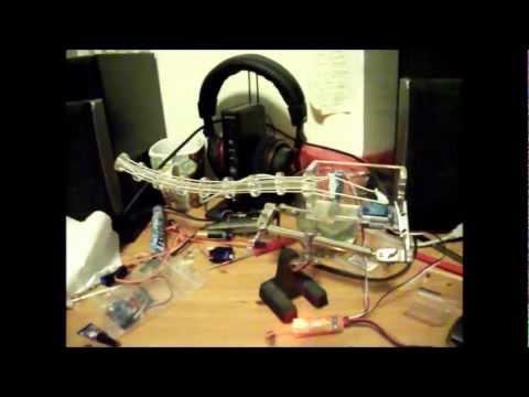 Animatronic tail / robotic arm