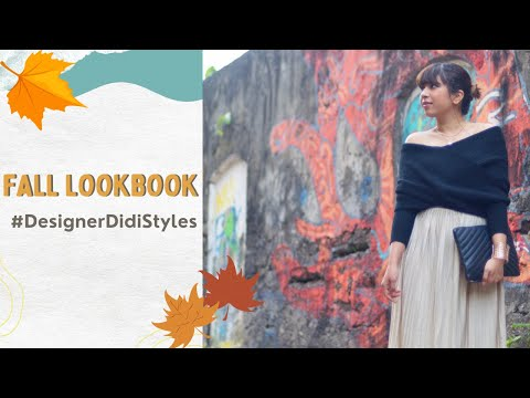 Fall Lookbook for Mumbai | Styling your skirts! | With Love Inaaya