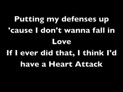 Demi Lovato - Heart Attack, Lyrics