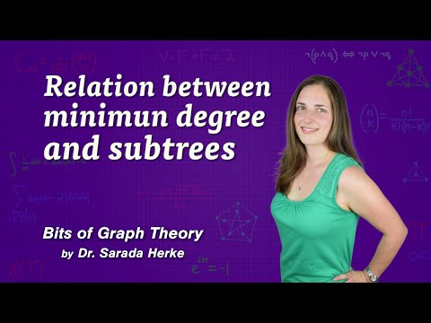 Graph Theory: 46. Relation Between Minimun Degree and Subtrees