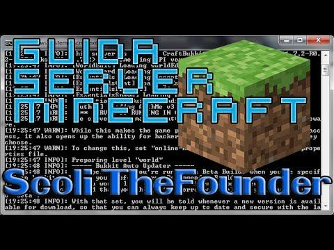 Guida come fare un Server Minecraft Bukkit Plugin 1.5.2 Sp e Non