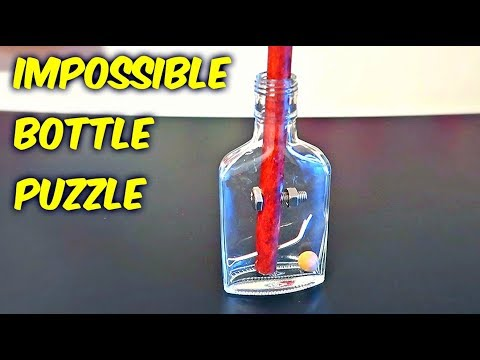 Impossible Glass Bottle Puzzle!