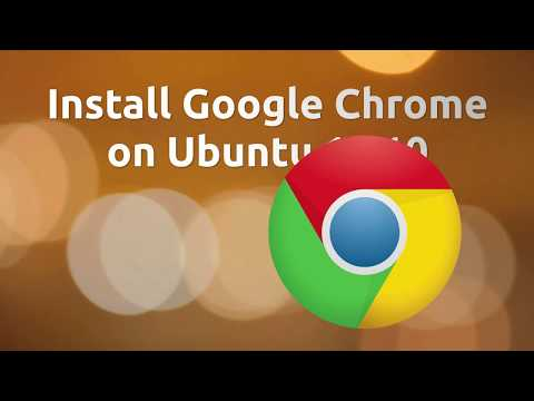 Install Google Chrome on Ubuntu 17.10