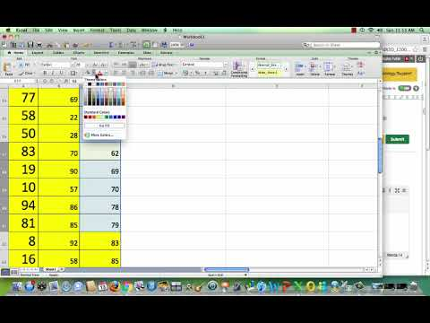 Generate, Freeze, and Organize Random Numbers in a Histogram with Excel