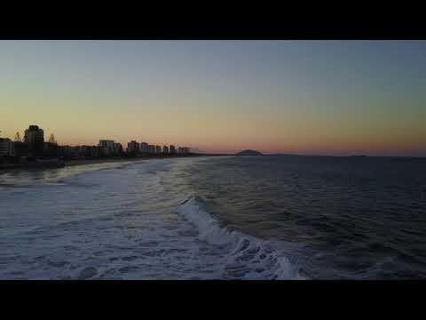 DJI Mavic Pro Drone Footage of the Beach on the Sunshine Coast, QLD, Australia