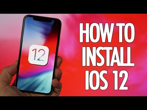 How to Install iOS 12 for FREE Right Now! No Developer Account!