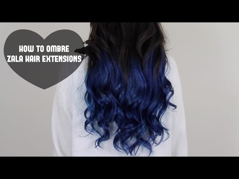 How to Ombre ZALA Hair Extensions