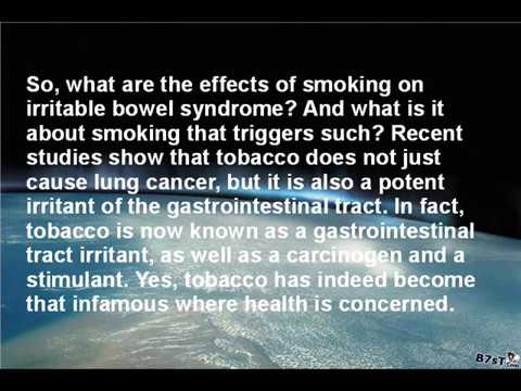 Smoking And IBS - What Are Smoking Effects On Irritable Bowel Syndrome