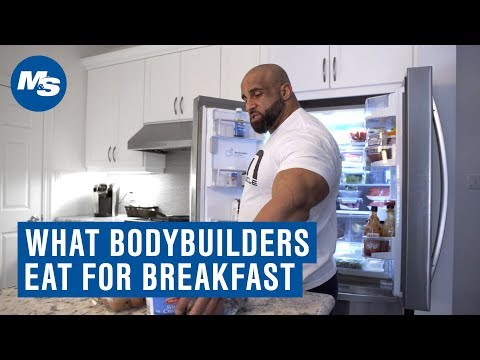 What Bodybuilders Eat For Breakfast | How Fouad