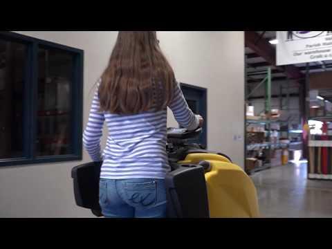 Stand On Rider Floor Scrubber - Tornado BDSO 27/28