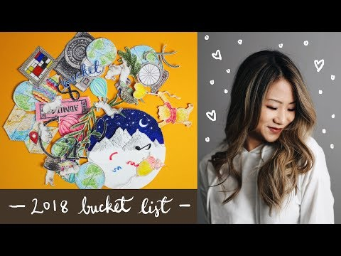 2018 Bucket List ✨ Stop Motion