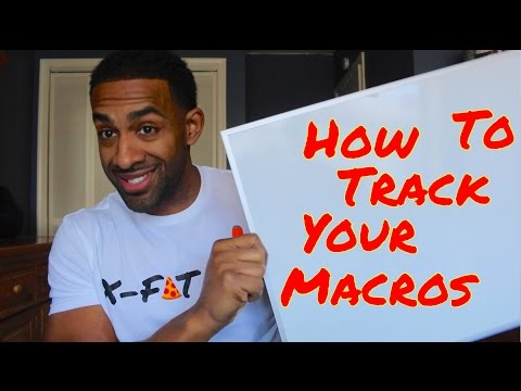 How to track and calculate your  macros - How to lose fat - How many calories should I eat?