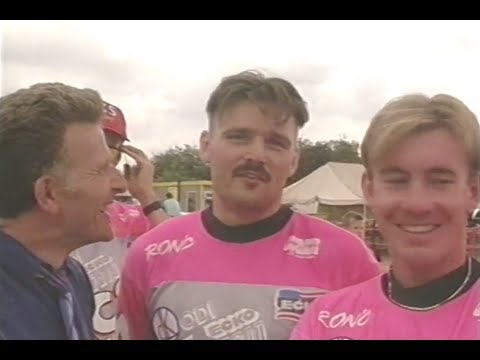 Bas de Bever & Dale Holmes TV Interview 'Euro BMX Champs UK'