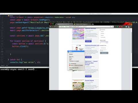 Web Scraping with Puppeteer, NodeJS & Shopify