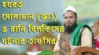Bangla Waz 2017 Sharifuzzaman হযরত সুলায়মান আঃ ও রানি বিলকীসের ঘটনা