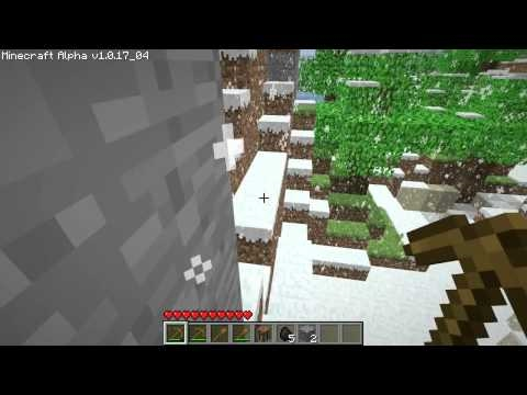 Agn0st1k's Minecraft Winter Wonderland Adventure - Day 1 (Light)