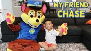 MY FRIEND CHASE From Paw Patrol! Fun Playtime with Ckn Toys