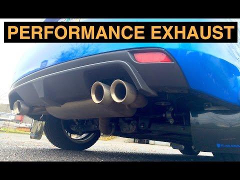 Performance Exhaust - More Horsepower