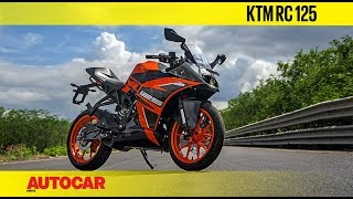 KTM RC 125 | First Ride Review | Autocar India