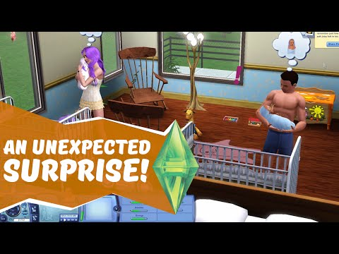 AN UNEXPECTED SURPRISE! - Sims 3 Ever After Ep. 21