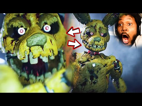 FNAF HAS NEVER LOOKED LIKE THIS   Reacting To Scary Videos [SSS #024]