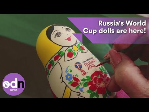Russia's World Cup dolls are here!