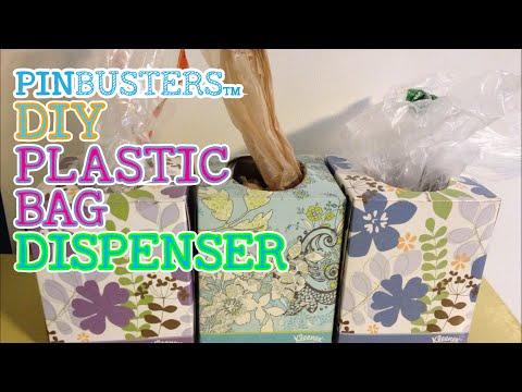 DIY Plastic Bag Dispenser // DOES THIS COOL LIFE HACK WORK?