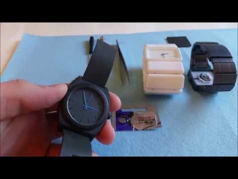 Nixon Watch Battery Replacement - Time Teller, Vega, Quatro, etc.