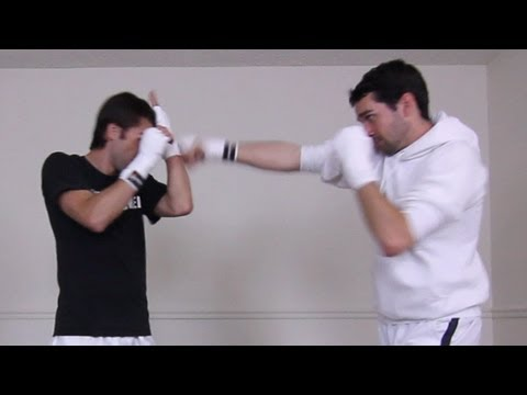 How to Block Jabs & Straight Punches (Bare Fists or MMA Gloves) | MMA Taekwondo Kickboxing