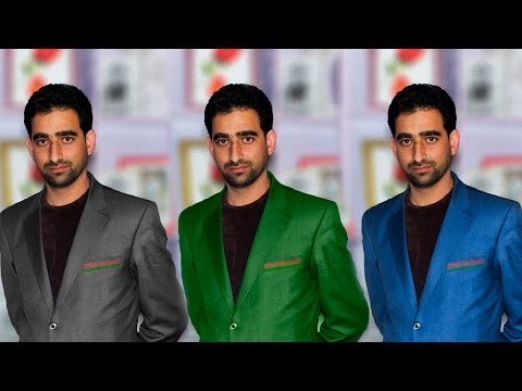 Photoshop Tutorial   How To Select & Change Dress Color   Hindi Urdu