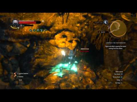 The Witcher 3: Blood and Wine - The Tufo Monster Witcher Contract [1080 p HD]