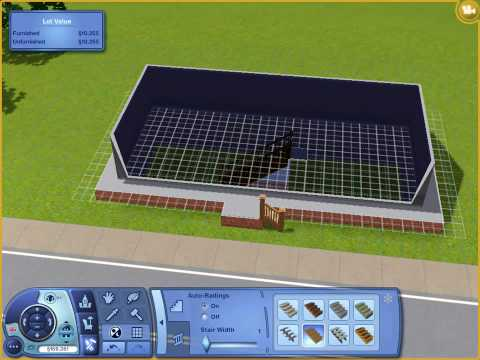 The Sims 3 - How to Build a Basement