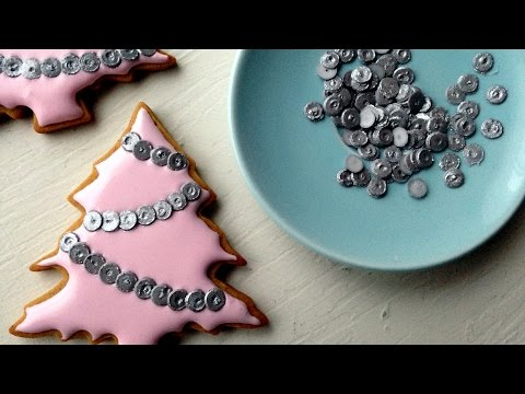 How To Make Edible Sequins Using Royal Icing!